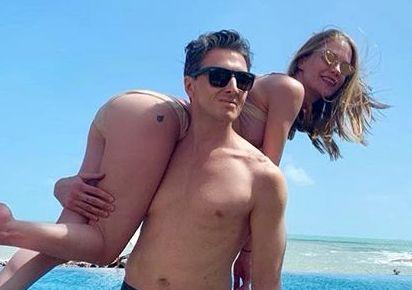 Откровенное фото Глюк'oZы с мужем